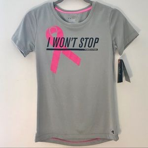 ✨NWT✨ Under Armour Breast Cancer Workout Top